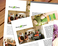 Dreamfinders Brochure Design