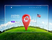 Landing Page Investing America Real Estate