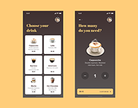 Order Coffee | UI & Interaction Design