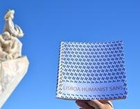 Catálogo Tipográfico . LISBOA Humanist Sans