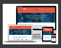 Free Responsive Business Portfolio Template - Wee