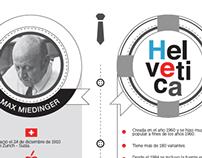 MAX MIEDINGER Y SU HELVÉTICA / Infografía
