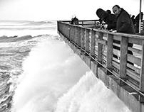 -Big Waves-  Ocean Beach Pier