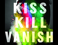 KISS KILL VANISH / BOOK DESIGN