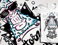 T-shirt design/ Camisetas!