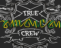 True Jamaican Crew. Album cover. Обложка альбома