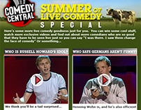 Comedy Central - Summer of Live Comedy