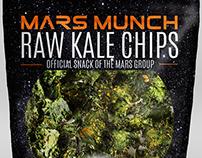 MARS MUNCH | Logo & Packaging Design