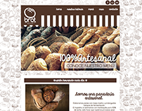 BROT BAKERY & CAFÉ WEBSITE