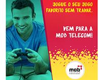 Nova identidade Visual Mob Telecom