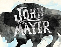 John Mayer Branding and Merch