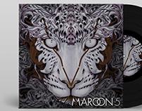 Cover Album Maroon 5 'V'