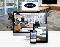 Novex Solutions - Office Refurbishment Services Website