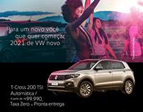 posts mídias sociais Abrão Reze VW