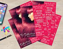 Flyer for Beauty Hair Salon