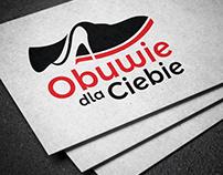"""Projekt logotypu dla firmy """"Obuwie dla Ciebie"""""""
