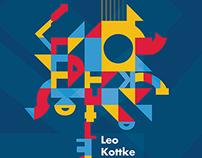 Poster Design - Leo Kottke