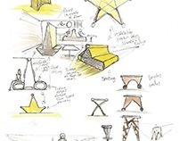 Concept and inspiration sheets for Final major project