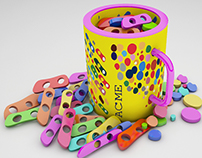 CANDY MUG PRODUCT DESIGN