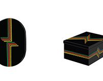 Disegni Mixologi Electro/ T-shirt Black e White
