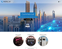 Digitalcom Home page Design