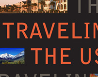 Traveling the USA, book redesign