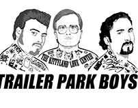Trailer Park Boys T-shirt Design
