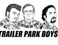 Trailer Park Boys T-shirt Design