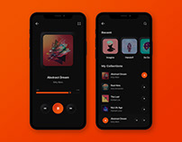 Music Player Mobile App Design