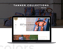 TANNER COLLECTIONS -PSD Template web site