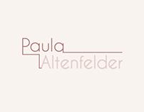Identidade visual - Paula Altenfelder