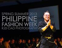 PHILIPPINE FASHION WEEK SPRNG SMMR 2013:JUN JUN CAMBE