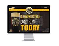 Web Design - Live Oak Brewing