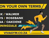 Viva Gym Newsletter/Social Media Banner/Animated Banner