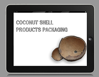 Coconut shell product packaging