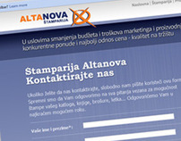 Alta Nova Website