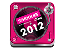 Schoolies 2012 App design
