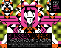 BLESSED UNREST / THROUGH YOU INTO ACTION