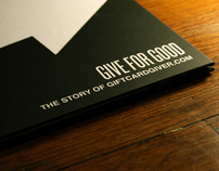 Give for Good - Promo Book Design