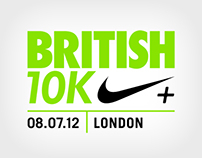 The British 10K - Cheer Me On