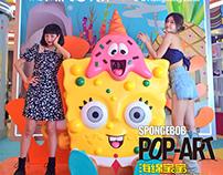 SpongeBob Pop Art Exhibition