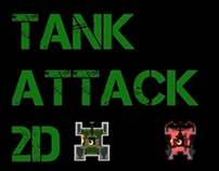 Tank Attack 2D XNA Game