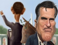 The defeat of Mitt Romney