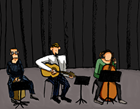 illustration   there was this concert, 2015