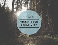 Tejesh Kodali - Foster Your Creativity