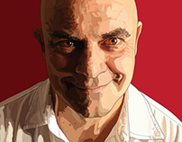 Maurizio Crozza's portrait
