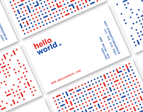Hello World - Programmable Visual Identity