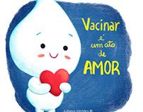 Vacinar é um ato de Amor