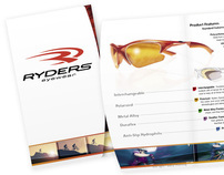 Ryders Eyewear Brochure/Catalogue