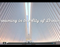 """Dreaming in the City of Dreams"" for Piccola New Yorker"